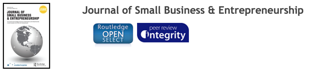 New Editor-in-chief appointed for the Journal of Small Business and Entrepreneurship