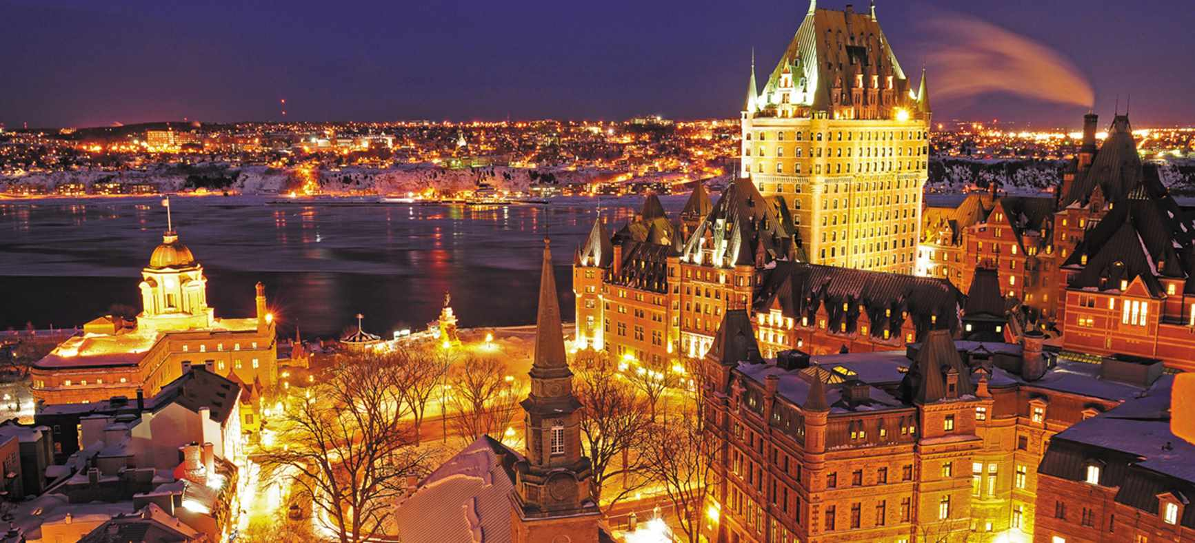 quebec_city at night