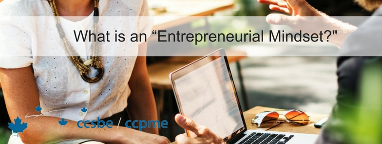 "What is an ""Entrepreneurial Mindset?"" By Lynn Sparling, Vice-President - Communications"
