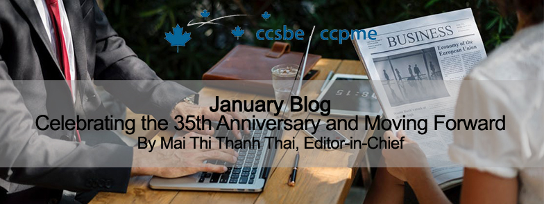 Celebrating the 35th Anniversary and Moving Forward Mai Thi Thanh Thai, Editor-in-Chief, mai.thai@hec.ca
